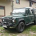 <b>LAND</b> <b>ROVER</b> Defender 130 Td5 double cabine 1999