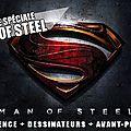 Soirée spéciale man of steel au cinéville de hénin-beaumont