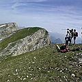 Pierre blanche 2106 m de gresse-en-vercors