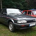 <b>MAZDA</b> 323 GLX berline 3 portes 1988