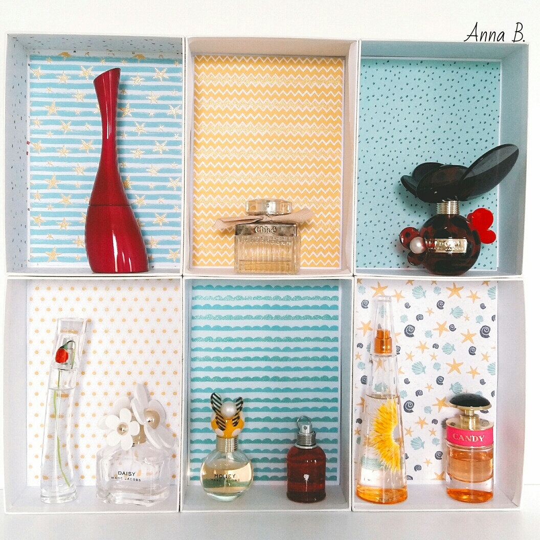 Mon étagère à parfums [DIY #3]