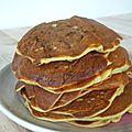 Pancakes de courgettes