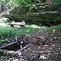 Fontaine de l'Ermite en Haute Ourthe