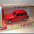 Renault 4 Vintage Mondo Motors rouge 1