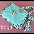 ✰ Le Turquoise ✰ #sac #sewingwithlove