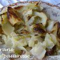 Gratin léger de pommes de terre et endives