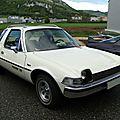 <b>American</b> <b>Motors</b> <b>Pacer</b> X hatchback 3door sedan 1975-1977