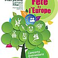 Participation fête de l'europe - 7 mai 2016 à marseille