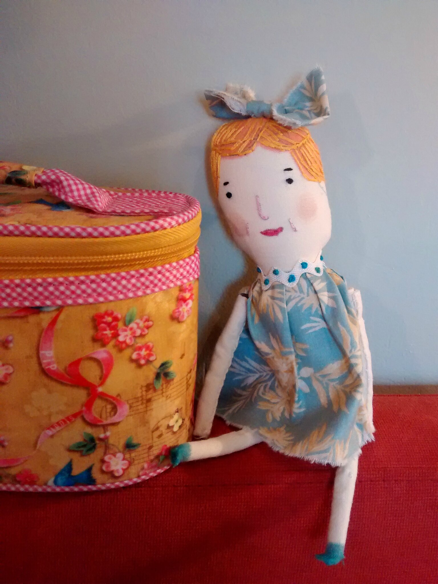 I have made some dolls this month