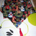Chemin table Noël