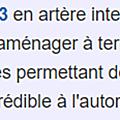 création d'un giratoire Milhaud CARREFOUR iNTERMARCHE n 113