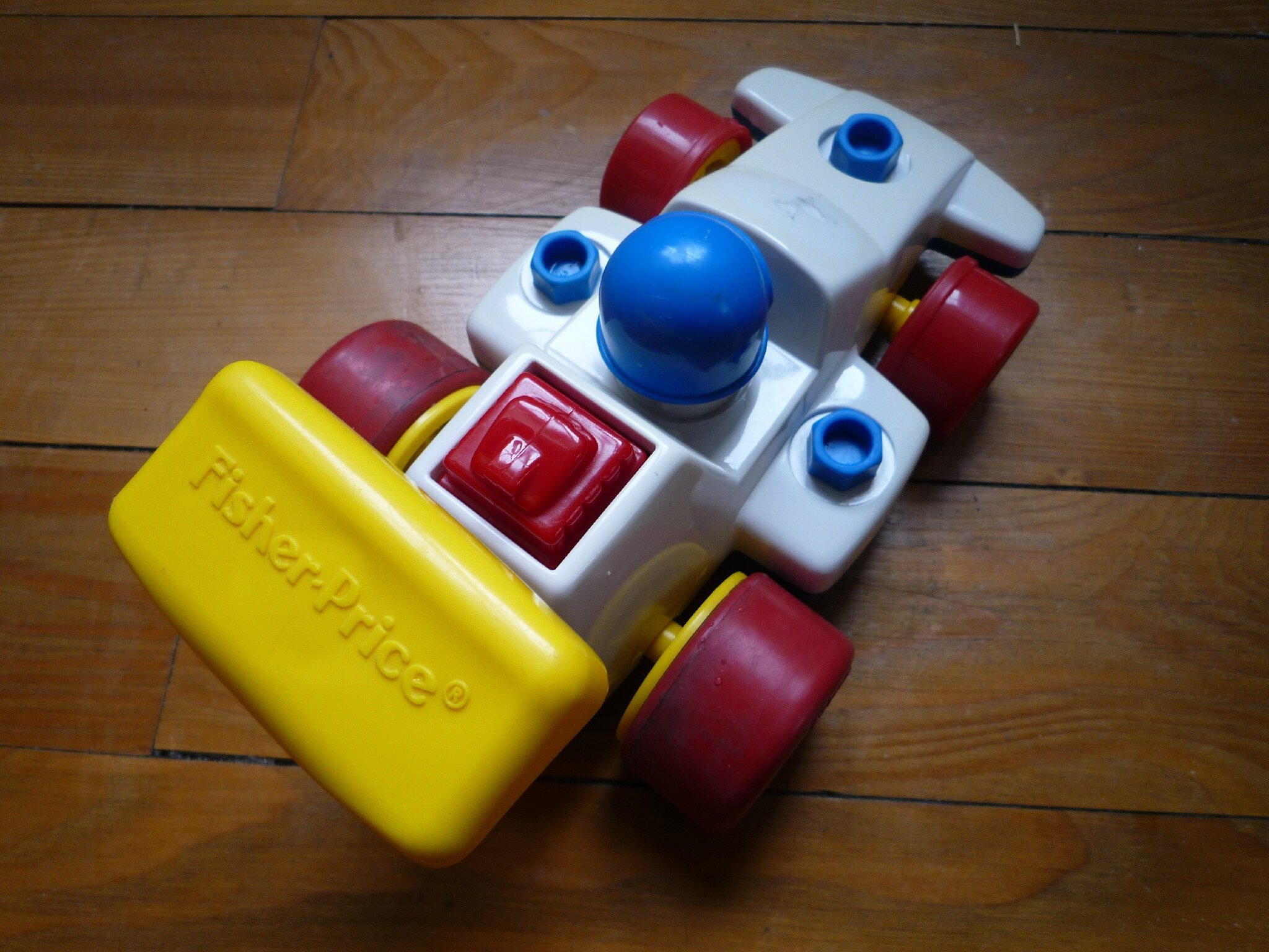 Voiture de course Fisher Price (3)