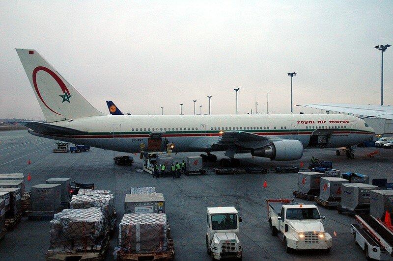 Royale Air Maroc Cargo Time Casablanca