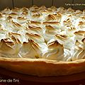 The best tarte au citron meringuée...