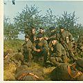 1971 3e cie 1ère section photo de Marcel Kock