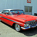 Chevrolet impala sport hardtop coupe de 1959 (RegioMotoClassica 2010) 01