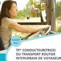 Le Titre Professionnel de conducteur routier de voyageurs