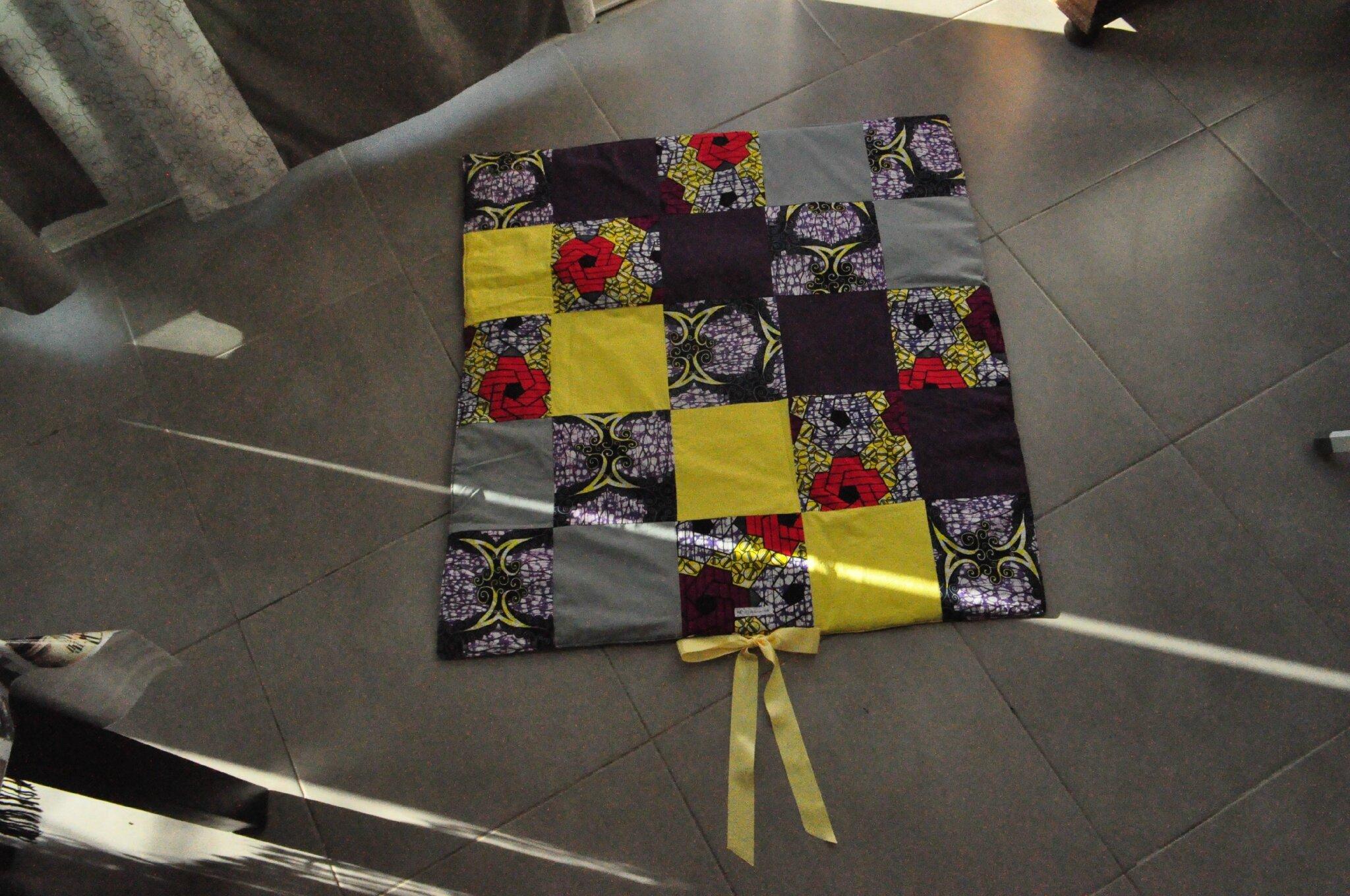 Couverture patchwork pour Bébé - modèle MALVA
