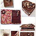 Carnet couture Marimerveille fleur Vanille chocolat2