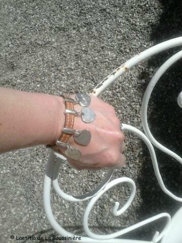 Le bracelet de Laurence G