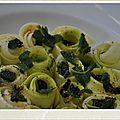 Salade crue de courgettes aux olives