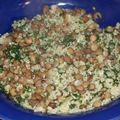 Variation autour du couple lentilles-quinoa
