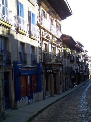 Hondarribia-calle Naguskia
