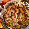 Gâteau pommes-noix-amandes