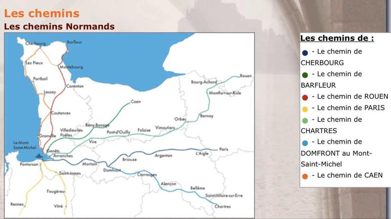 GR Littoral de la Normandie: VIVE LA REUNIFICATION NORMANDE AVEC LES PIEDS!