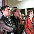 Quelques photos du vernissage de l'exposition consacrée à la Bièvre