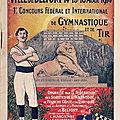 <b>Fêtes</b> des <b>2</b> au <b>4</b> <b>juillet</b> <b>1920</b> à Belfort, samedi 3 <b>juillet</b>, Concours Fédéral et International de gymnastique & de tir (5e partie)