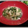 Soupe de riz au poulet (version rapide)