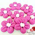 Bouton fleurette rose (3)