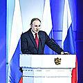 Poutine : comment rester aux commandes de la Russie après 2024 ?