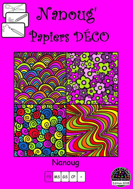 29-COUVERTURE Papiers DECO