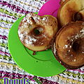 Minis donuts pommes-cannelle