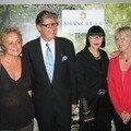 Clovic cornillac et sa compagne, muriel robin, michel boujenah, le mannequin audrey marney à la maison blanche !