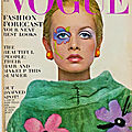 <b>1967</b>, Twiggy par Richard Avedon pour Vogue
