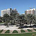 Rond-point à <b>Dubaï</b> (<b>Emirats</b> Arabes Unis)