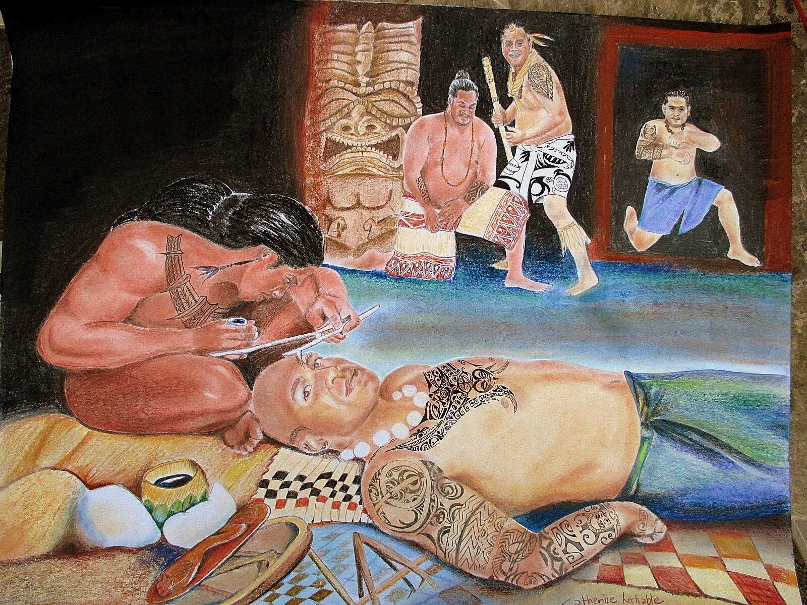 TA-ATUA, tatouage artistique