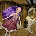 Jane et les chats...