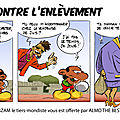 ALMO THE BEST invente la BD anti-enlèvement