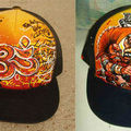 Hot honey caps custom graffiti hip hop casquette painting writin