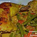 Cuisses de poulet au pomme-curry au multicuiseur