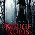 [La trilogie des Gemmes], <b>Kerstin</b> <b>Gier</b>