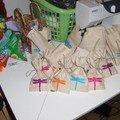 Les petits sacs de bonbons faits pour