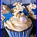 cupcake chocolat orange curd