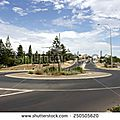 Rond-point à <b>Bunbury</b> (Australie)