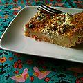 Clafoutis saumon-boursin