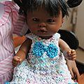 Petit frère ou petite soeur ? + tuto robe pour poupée d'nenes ou asivil (20 cms)